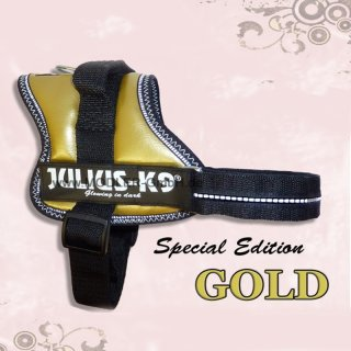 Special Edition / JULIUS K9 Powergeschirr GOLD